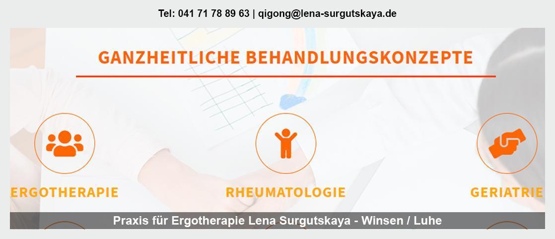 Ergotherapie Geesthacht - Ergotherapeutin - Lena Surgutskaya: sensomotorisch-perzeptiv, psychisch-funktionell, ADHS,