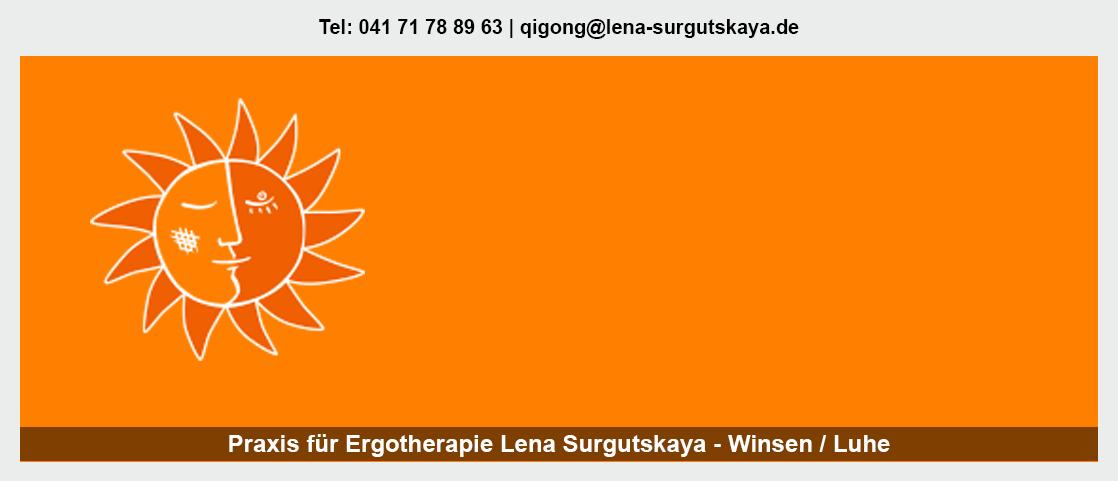 Traditionelle chinesische Medizin in Toppenstedt - Ergotherapeutin - Lena Surgutskaya: sensomotorisch-perzeptiv, Pädiatrie, psychisch-funktionell,